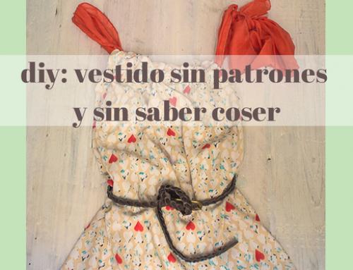 Hazte este vestido en un rato y sin patrones