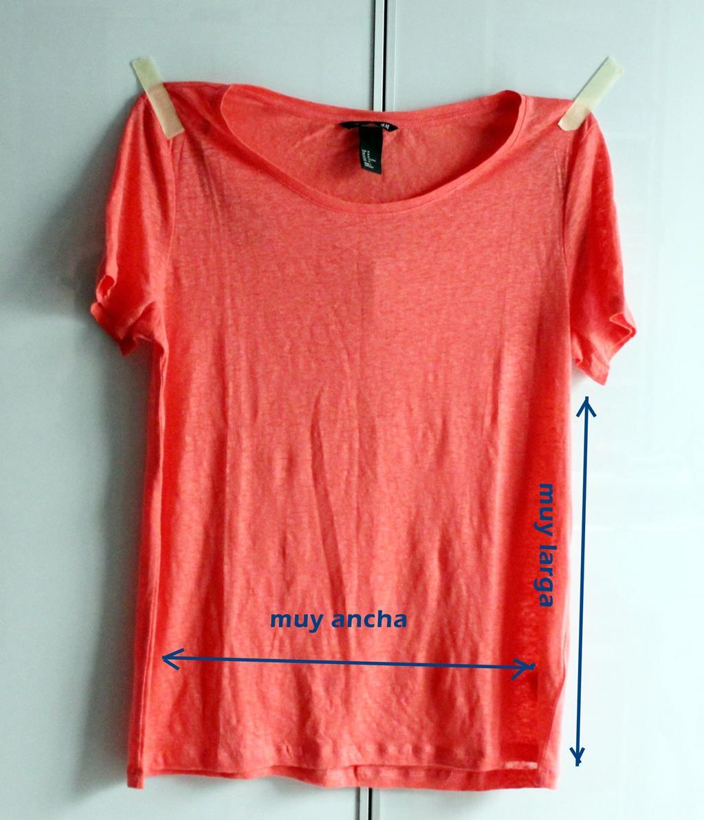 Como ajustar una camiseta demasiado ancha | Coser ropa, Ropa