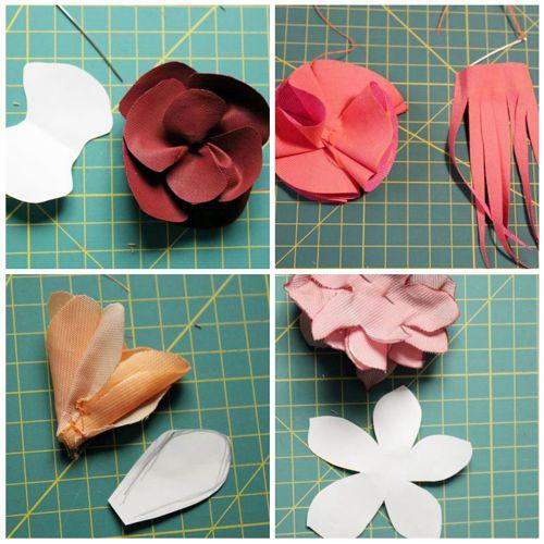 tutorial para collar de flores inspirado en bimba&lola