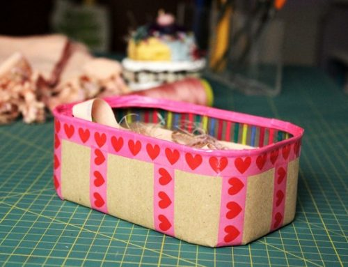 Reciclar una lata de espárragos en una papelerita craft