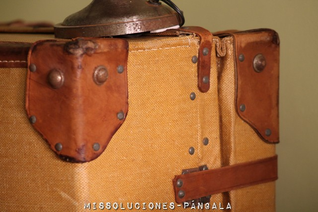 maleta vintage 1960 restaurada 4