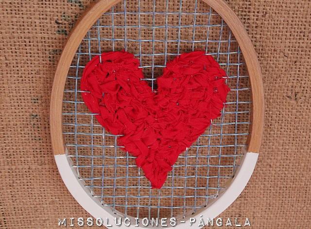 No tires raquetas viejas, donde hay amor...