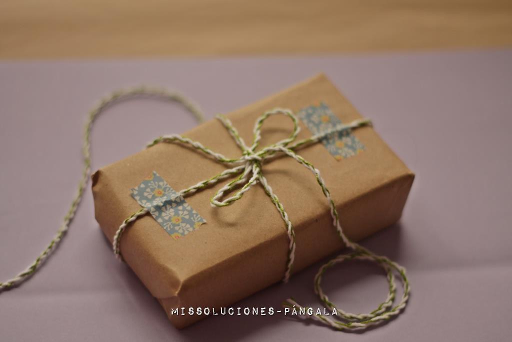 packaging con baker's twine casero