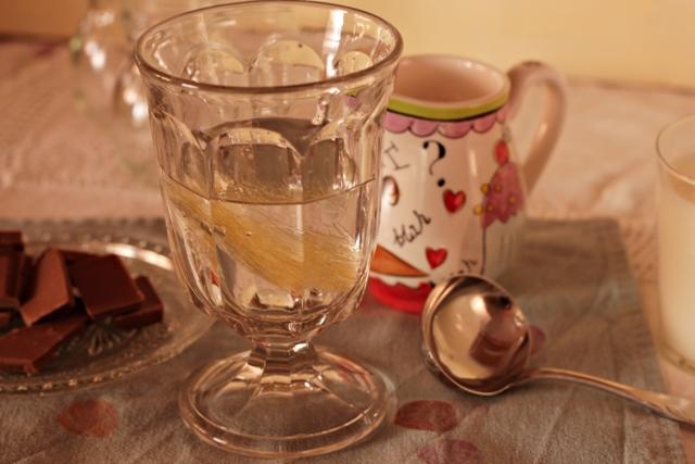 hidratar la gelatina