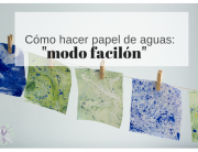 diy papel de aguas