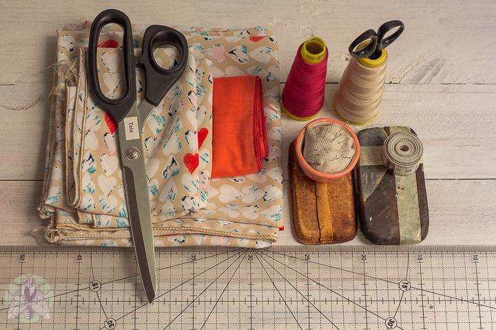 materiales vestido sin patrones