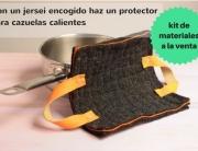 Con un jersei encogido haz un protector kit pangala a la venta