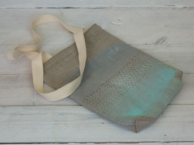 como decorar una bolsa de tela pangala07