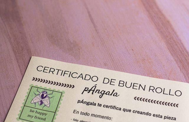 certificado de buen rollo
