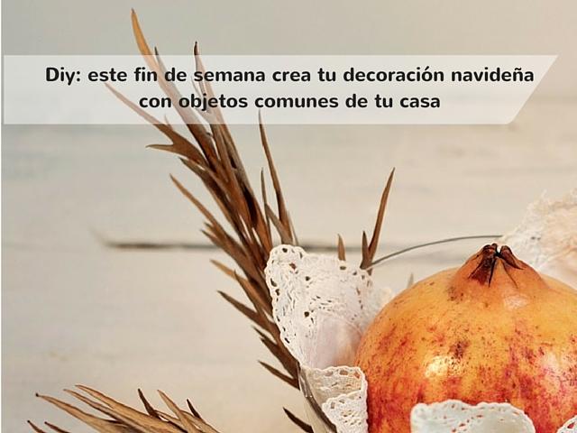 Mis soluciones pangala crea tu decoraci n navide a con - Crea tu casa ...