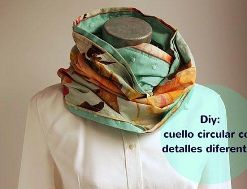 Cómo hacer un cuello circular o infinity scarf diferente