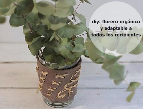 Diy: cómo hacerte un florero orgánico y adaptable a todos tus recipientes