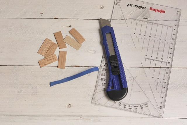corta trocitos de chapa de madera colgante de madera missoluciones-pángala