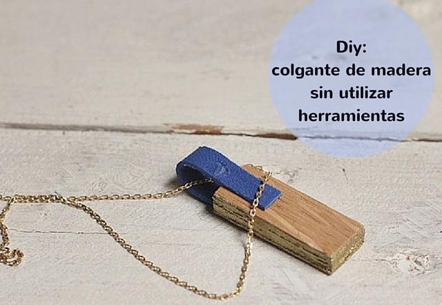 diy colgante de madera sin herramientas missoluciones-pángala