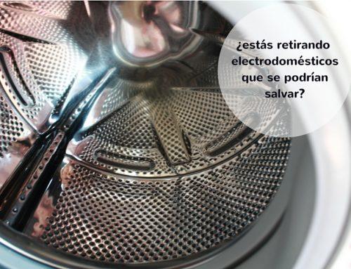 ¿Estás retirando tus electrodomésticos averiados innecesariamente?