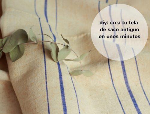 Cómo fabricar tu saco de harina antiguo