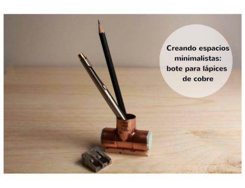 Cómo lograr espacios minimalistas: el bote de lápices