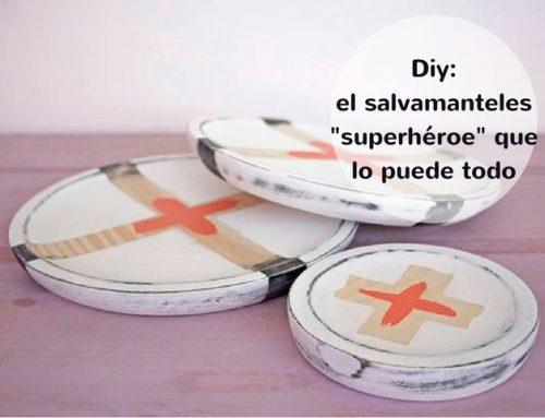 Cómo hacer salvamanteles superhéroe con poco trabajo
