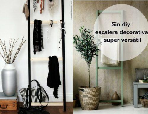 Sin diy: cómo tener tu escalera decorativa por pocos euros y poco trabajo